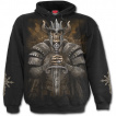 Sweat-capuche homme gothique à Guerrier viking revenant