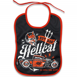 """Bavoir """"TO HELL AND BACK"""" - Hot Rod Hellcat"""