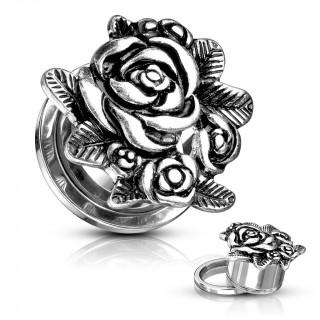 Ecarteur plug à bouquet de roses style ancien
