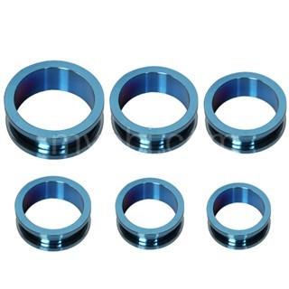 Ecarteur tunnel en acier bleu électrique à vis