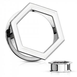 Ecarteur tunnel hexagonal en acier
