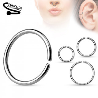 Anneau oreille sans piercing