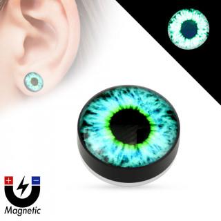 mieux aimé meilleures offres sur 100% de satisfaction achat Faux plug d'oreille avec oeil fluo (magnétique - sans ...
