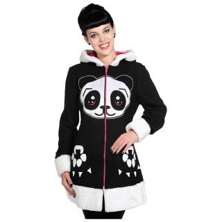 "Manteau femme ""Panda Face"" - Banned"