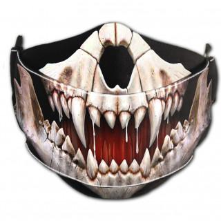 Masque ajustable bouche et nez coton ROCK JAW (Import UK - Non normé AFNOR)