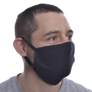 """Masque noir mixte """"RUMI FACE COVER"""" - Poizen Industries (Import UK - Non normé AFNOR)"""