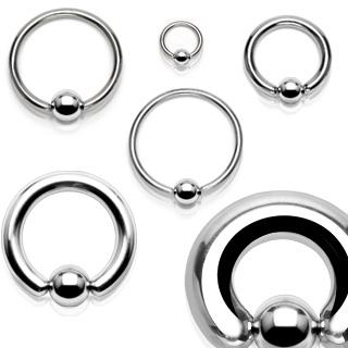 Piercing anneau captif (CBR) en acier