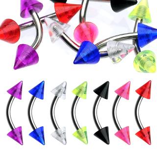 Piercing arcade pointes UV
