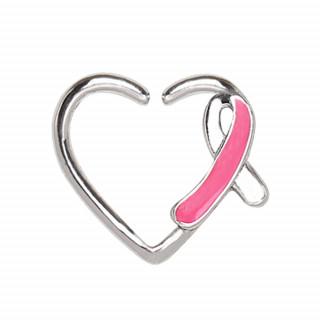 Piercing cartilage anneau coeur sensibilisation