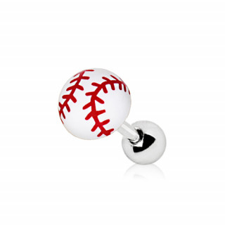 Piercing cartilage balle de baseball