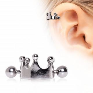 Piercing cartilage hélix à couronne
