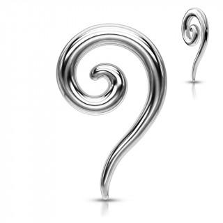 Piercing écarteur spirale en acier