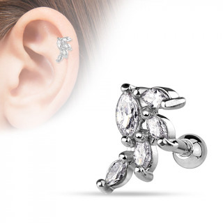 Piercing helix / cartilage style grappe de raisin chic