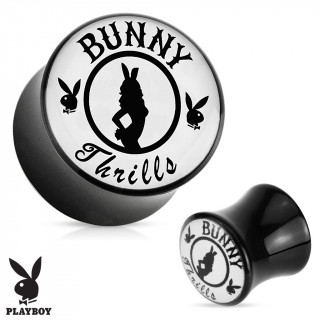 "Piercing plug écarteur Playboy ""Bunny Thrills"""