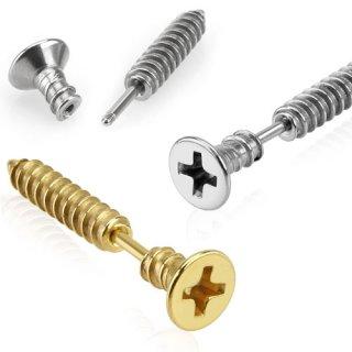 achat piercing tragus cartilage en forme de vis auto perforante pas cher. Black Bedroom Furniture Sets. Home Design Ideas