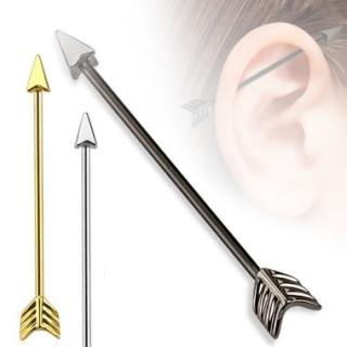 Piercing flèche type industriel