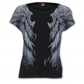T-shirt femme à ailes d'ange
