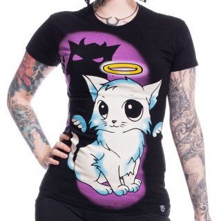 T-shirt femme KITTY ANGEL T - Cupcake Cult