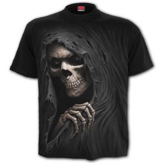 T-shirt homme à faucheuse déchirant le tissu