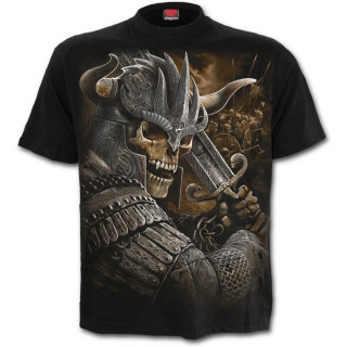 T-shirt homme gothique à Guerrier viking revenant