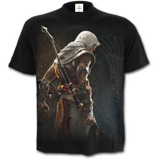 """T-shirt homme noir """"BAYEK"""" - Assassins Creed Origins"""