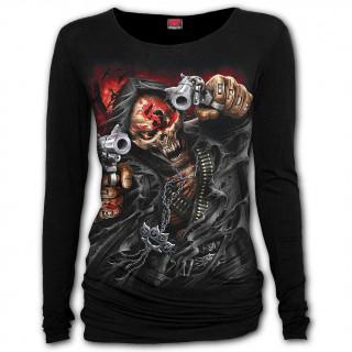 T-shirt manches longues femme 5FDP - Assassin