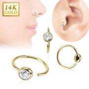 paquet à la mode et attrayant en ligne à la vente en ligne ici Or : Vente de piercing tragus en or | Neo piercing