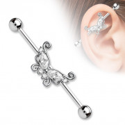 achetez ici votre piercing oreille en acier lobe helix tragus industriel. Black Bedroom Furniture Sets. Home Design Ideas